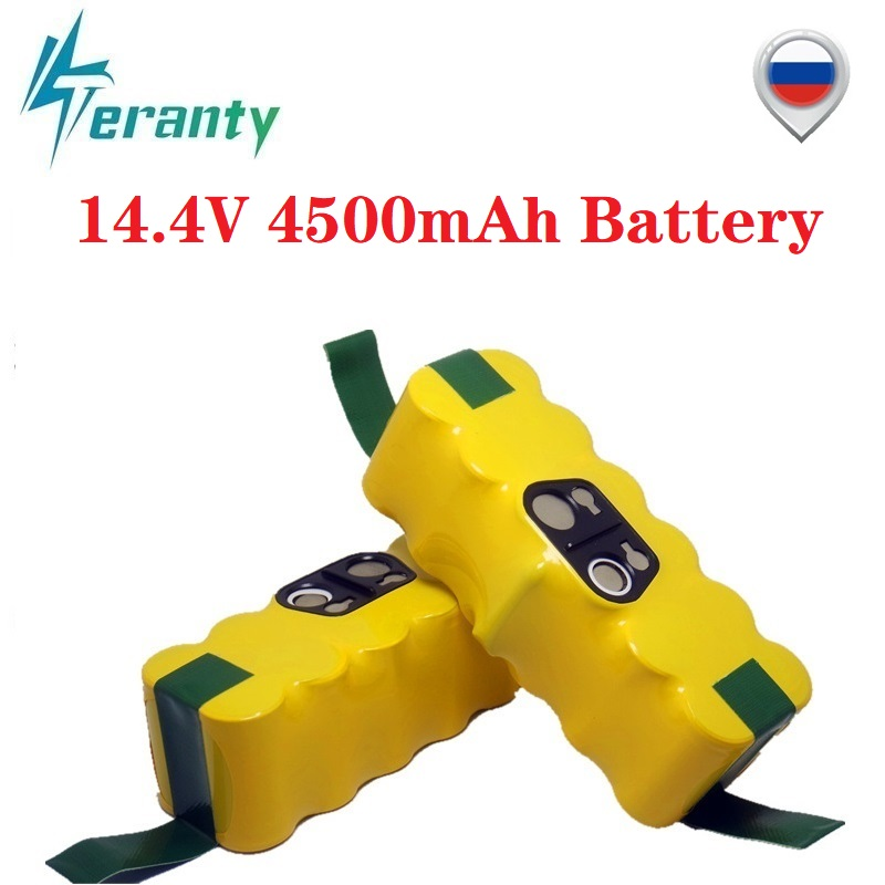 14.4V 4500mAh Ni-MH Battery For IRobot Roomba 500 510 530 532 534 535 540 550 560 562 570 580 600 610 700 760 770 780 800 980 R3