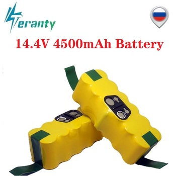 14.4V 4500mAh Ni-MH Battery for iRobot Roomba 500 510 530 532 534 535 540 550 560 562 570 580 600 610 700 760 770 780 800 980 R3 new 6 armed lateral brush for irobot roomba 500 600 700 series 510 530 532 550 560 620 625 760 770 780 vacuum cleaner part