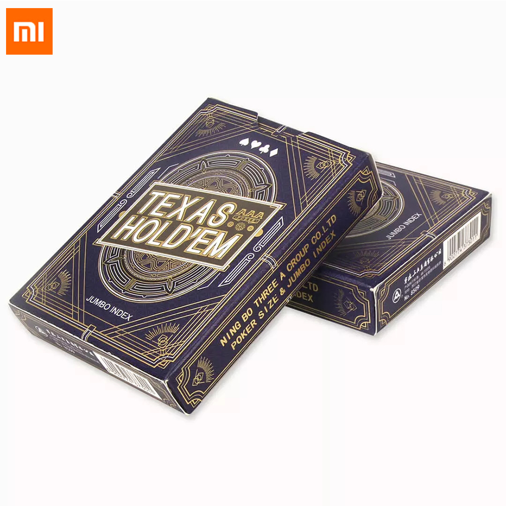 Xiaomi Mijia Youpin Poker Board Games Playing Cards 54 Pcs Waterproof Cards Party Gathering Game For Family Party Smart Home Use