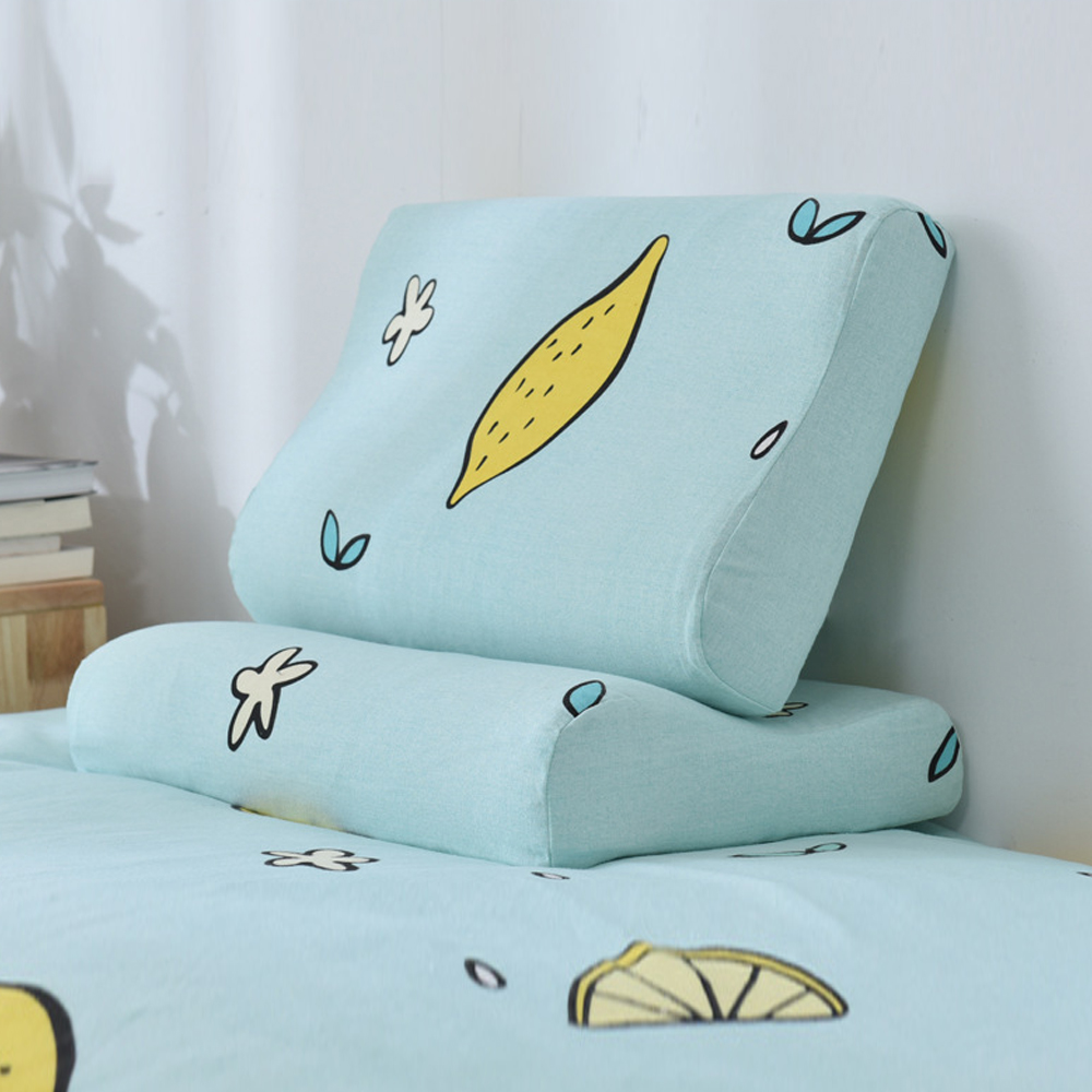Creative Soft Pillow Cases Slowly Rebound Memory Foam Space Pillow Cases Neck Healthcare Memory Pillow Case Latex Pillowcase