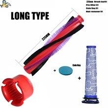 nylon bristle roller and filter replacement brush for DYSON V6 brush DC59 DC62 SV073  SV03 963830 01 motorized floor brush bar