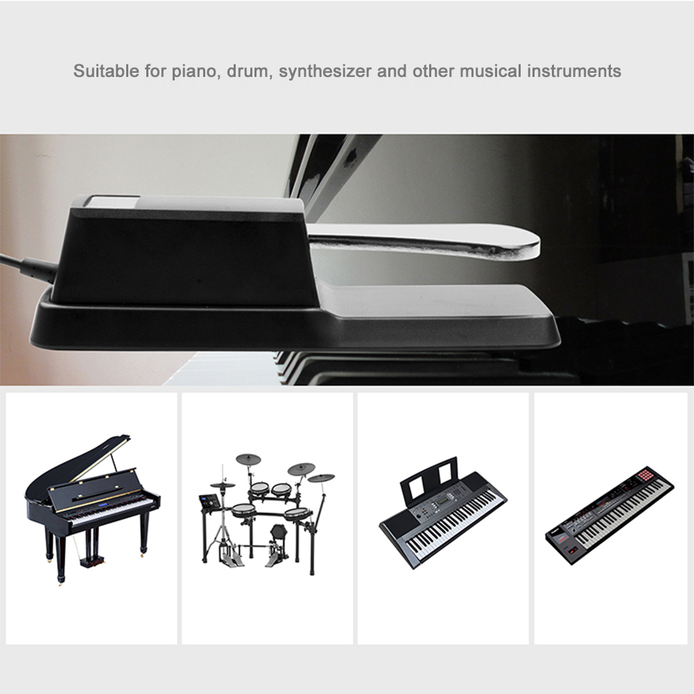 FTB-004 Piano Keyboard Sustain Damper Pedal Electric Piano Organ Synthesizer Pedal enlarge