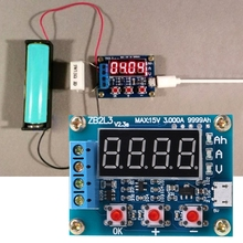 Analyzer Discharge-Tester Battery-Capacity ZB2L3 Meter Lithium Li-Ion Lead-Acid