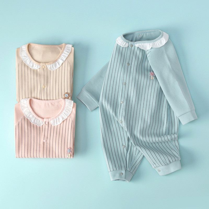 Baby's Jumpsuit New Born Baby Girl Clothes Baby Boy One Piece Outfit Cartoon Newborn Rompers Infant Clothing Spring And Autumn
