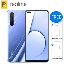 Realme X50 5G Del Telefono Mobile 256GB /128GB di ROM 12GB /8GB di RAM 6.57 snapdragon 765G Quad fotocamera principale 64MP 4200mAh NFC 5G Smartphone
