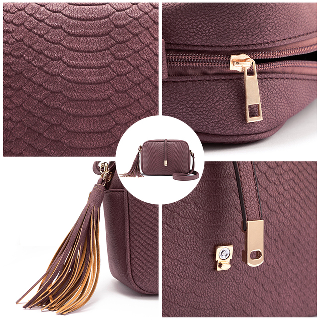 Small shoulder bag for women- leather handbag purse  6