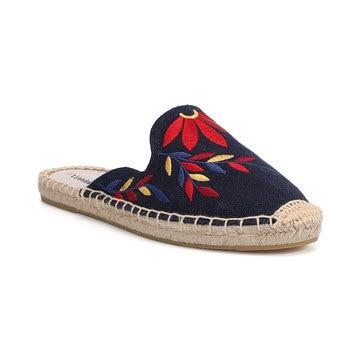 2019 Top Direct Selling Hemp Summer Rubber Print Terlik Mules Slippers Tienda Soludos Espadrilles Slippers For Flat Shoes 4