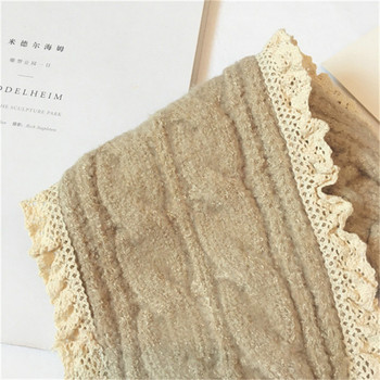 Korean Knit Head Scarf – Beige