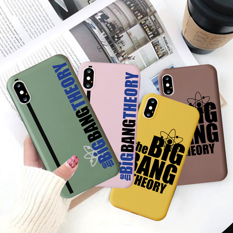 Jamular Hot TV Series Silicone Soft Shell <font><b>Phone</b></font> <font><b>Case</b></font> for iPhone 11 Pro XS Max X XR 7 8 6 Plus <font><b>Big</b></font> <font><b>Bang</b></font> Theory <font><b>Phone</b></font> Back Cover image