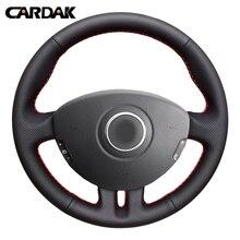 CARDAK, черная искусственная кожа, фотосессия для Renault Clio 3 2008 2009 Clio Dynamic 2008 clio mk 3 2010