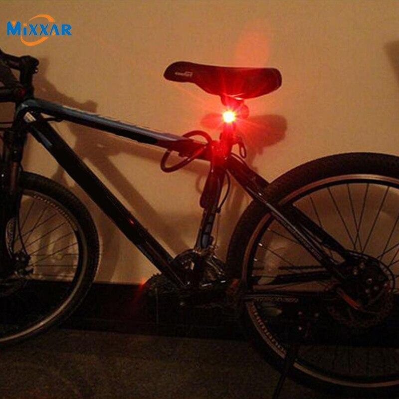 Дропшиппинг водонепроницаемый велосипедный передний задний шлем красная вспышка сигнальная лампа безопасности предупредительный фонарь