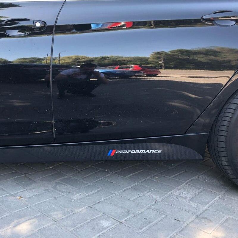 M производительность сбоку юбка подоконник полоса средства ухода за кожей наклейки для BMW E90 E92 E93 F20 F21 F30 F31 F32 F33 F34 F15 F10 F11 F02 G30