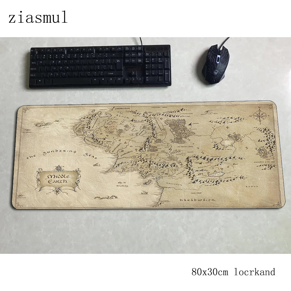 Lord Of The Ring Mouse Pad Gamer 3d 800x300x3mm Notbook Mouse Mat Gaming Mousepad Large Xl Pad Mouse PC Desk Padmouse Mats