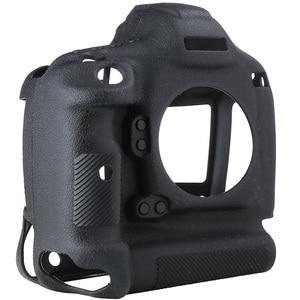 Image 5 - כיסוי עבור Canon 1DX סיליקון מצלמה מגן מקרה עבור Canon 1DX 1DX2 1DXII גבוהה כיתה ליצ י מרקם שאינו להחליק מצלמה כיסוי