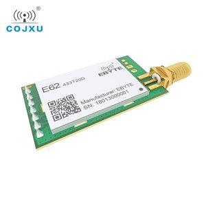 Image 5 - 433MHz TCXO كامل دوبلكس rf وحدة ebyte E62 433T20D طويلة المدى جهاز الإرسال والاستقبال اللاسلكي iot الارسال والاستقبال UART
