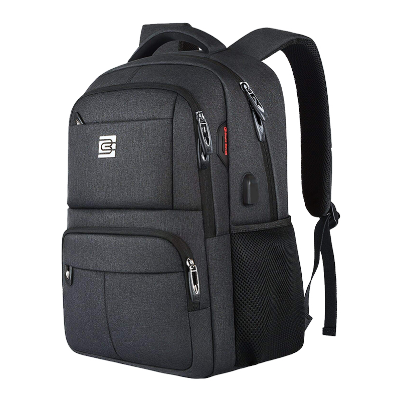Laptop Backpack,Business Travel Slim Durable Anti Theft Laptops Backpack With USB Charging Port,Water Resistant College Backpack