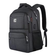 กระเป๋าเป้สะพายหลังแล็ปท็อป,เดินทางธุรกิจ Slim ทนทานป้องกันการโจรกรรมกระเป๋าเป้สะพายหลังแล็ปท็อปกับ USB ชาร์จพอร์ต,กันน้ำกระเป๋าเป้สะพายหลัง