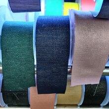 Polyester Band 6/9/16/19/25/32/38/50mm Breite Bias bindung Band Für Diy Tasche Handwerk Gold Lurex Twill Gurtband