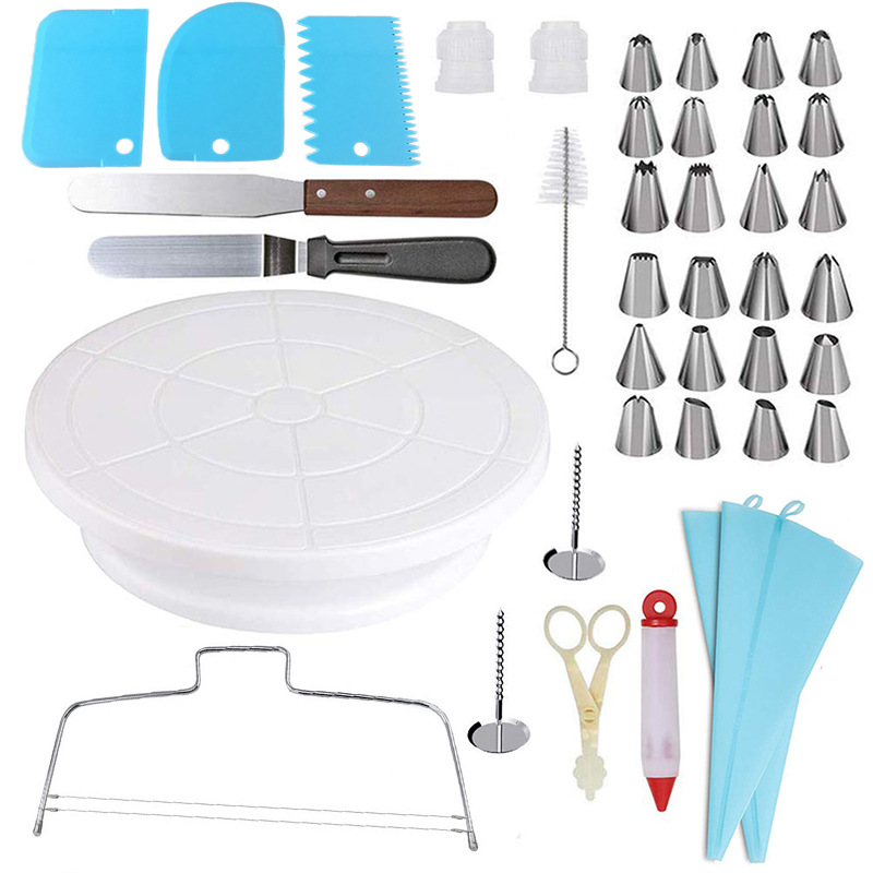 40 piece set Silicone Pastry Bag
