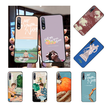 NBDRUICAI Call Me by Your Name poster DIY Printing Phone Case cover Shell for Huawei P30 P20 P10 P9 P8 Mate 20 10 Pro Lite(China)