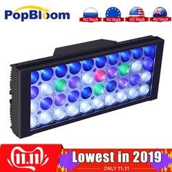 PopBloom Aquarium Licht Lampe Aquarium Led Beleuchtung Lampe für Aquarium Led Licht Für Aquarium Tank Marine Korallen Führte Turing30