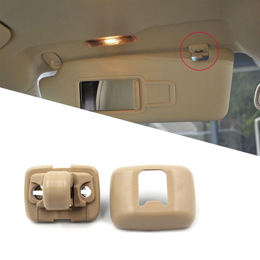 KKmoon Interior Sun Visor Clip Hook Bracket Hanger for Audi A1 A3 A4 A5 A6 A7 Q5 8U0857562A