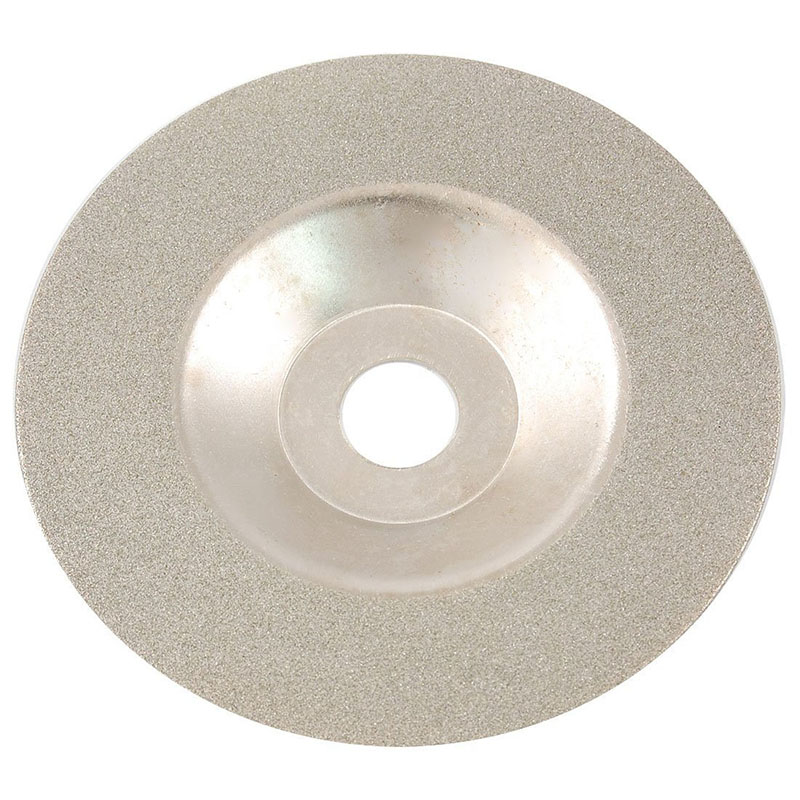 Cutting Disc, For Glass / Stone, With Diamond Coating, Galvanized, Fine Grain