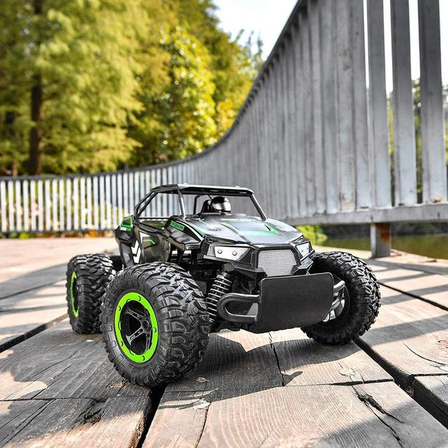 1:14 35Km/h RC Car Metal Alloy Body Crawlers Remote Control Off-Road Truck Cars Electric Vehicle For Kids Adults RC Car 4WD Toys 3