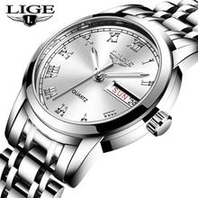 2020 LIGE Top Brand Luxury Women Watches