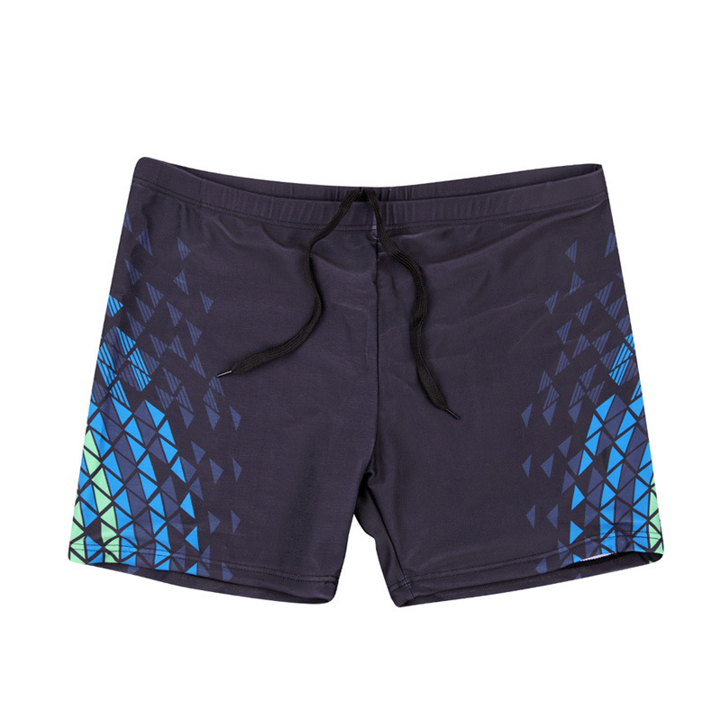 2019 New Style Large Size Swimming Trunks Men's Boxer Loose-Fit MEN'S Swimming Trunks Printed Quick-Dry Snorkeling Swimming Trun
