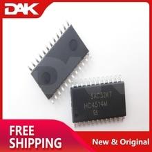 Decodificador/demultiplexor de 4 a 16 líneas de alta velocidad CMOS de 5 piezas CD74HC4514M96 SOP24 con entrada pestillos IC CHIP