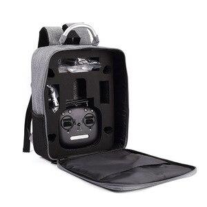 Image 3 - المضادة للصدمات حقيبة حمل حقيبة ل Mjx البق 5 واط B5W كوادكوبتر الطائرة بدون طيار حقيبة التخزين على ظهره (أسود)