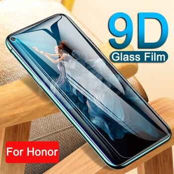 Перейти на Алиэкспресс и купить 9D закаленное стекло для Huawei Honor 30 30S 20 10 9 Lite V30 V20 V10 V9 Play Защитная пленка для экрана