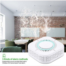 Alarm-Sensor Smoke-Detector Sonoff Fire-Security Wireless for Smart-Home-Automation
