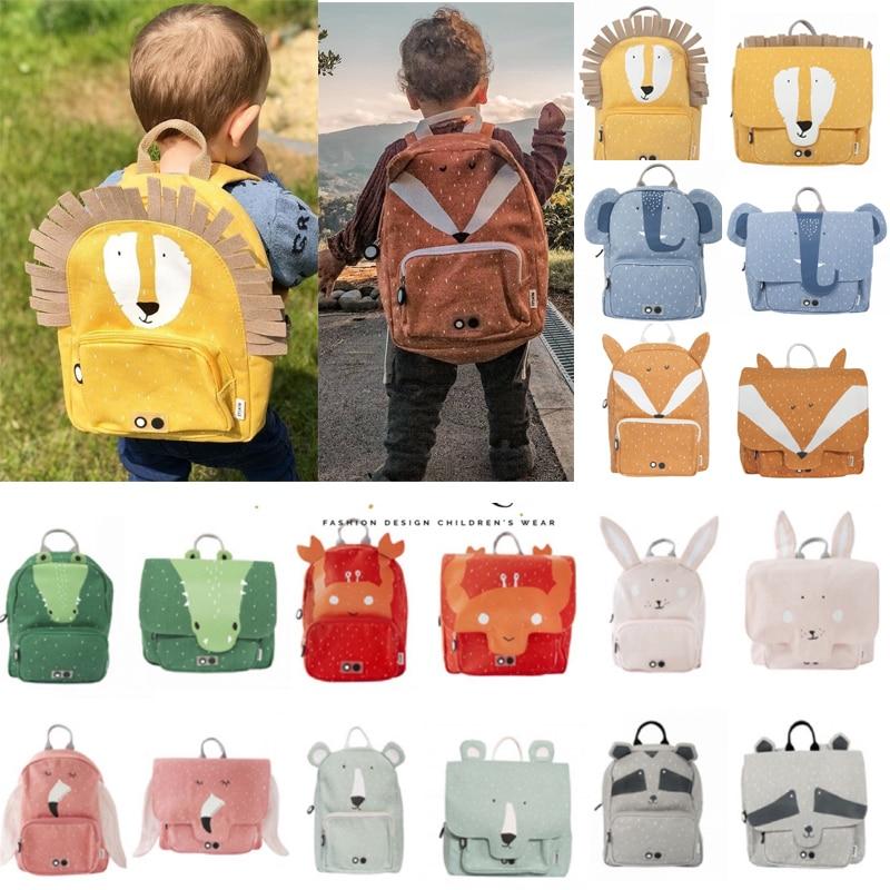 Australia Trix Brand Kids Baby Animal Backpack 2020 New Autumn Toddler Boys Girls School Travel Bags Kindergarten Cartoon Bag