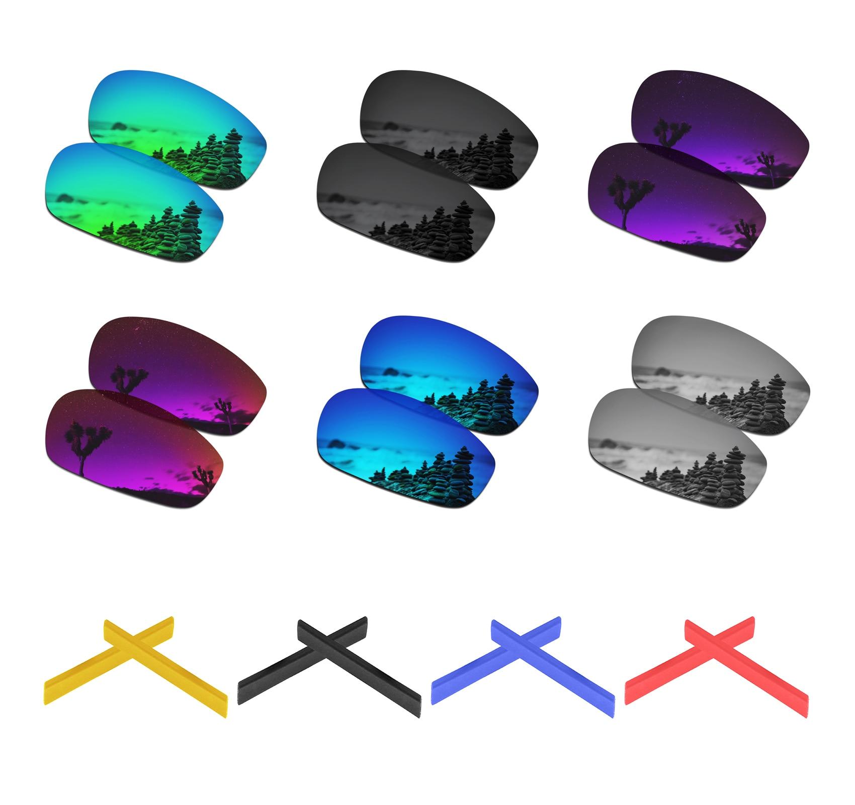 SmartVLT Polarized Replacement Lenses For Oakley Split Jacket Sunglasses - Multiple Options