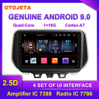 Factory direct sale OTOJETA Android 9.0 Car Multimedia Radio For 2018 Hyundai Tucson tape recorder IX35 GPS bluetooth Navigation