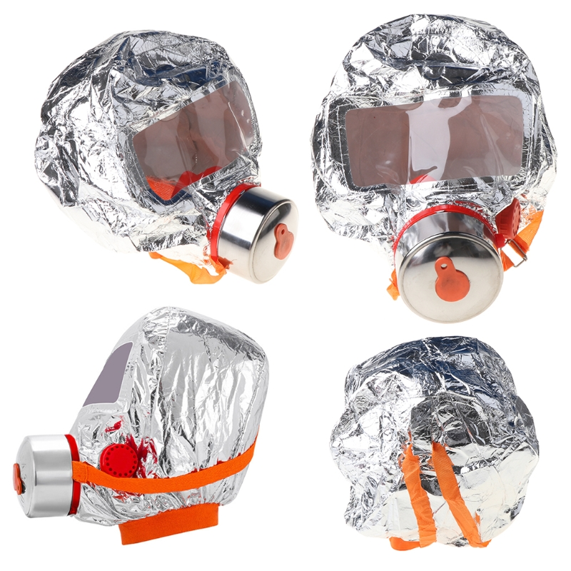 Fire Eacape Face Mask Self-rescue Respirator Gas Mask Smoke Protective Face Cover Personal Emergency Escape Hood Self-rescue