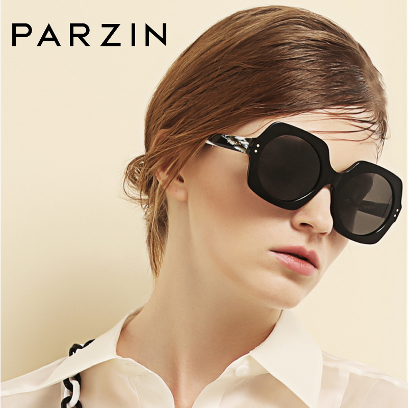 PARZIN Cool Designer Women Square Sunglasses High Quality Polarized Driving  Fashion Accessories Big 9740