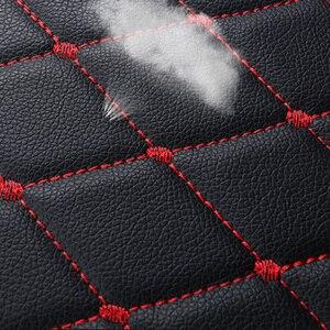 Image 5 - Универсальный кожаный чехол для автомобильного сиденья, чехол на переднее и заднее сиденье, защитный коврик для сиденья, аксессуары для интерьера