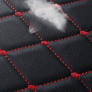 Image 4 - Housse universelle en cuir pour siège de voiture, housse de siège avant et arrière, couvre siège, tapis de protection, accessoire dintérieur