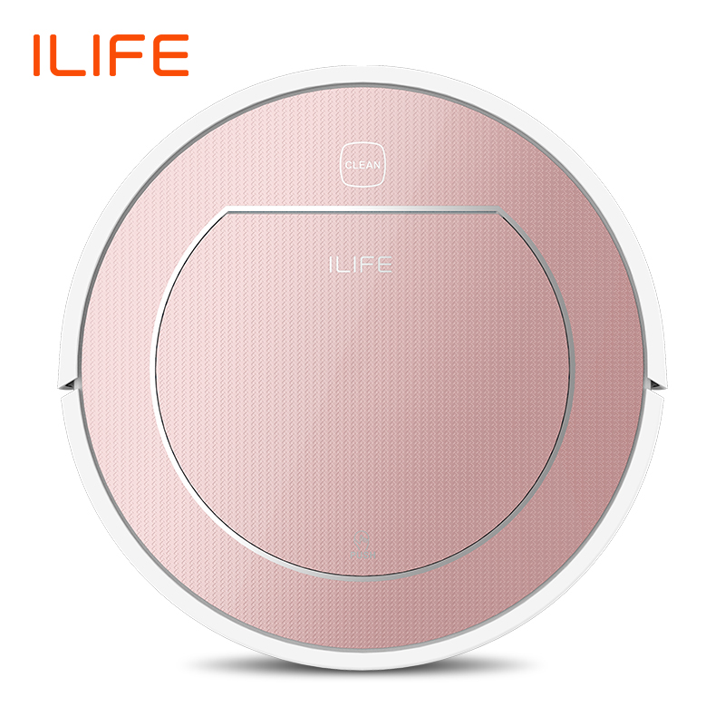 ILIFE V7s Plus Robot Vacuum Cleaner Sweep&Wet Mop Simultaneously For Hard Floors&Carpet Run 120mins before Automatically Charge 1