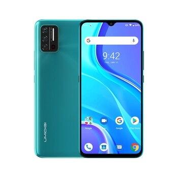 Перейти на Алиэкспресс и купить UMIDIGI A7S 6,53 дюймМобильный 20:9 большой полноразмерный экран 2 + 32 ГБ 4150 мАч Тройная камера мобильный телефон Android 10 MTK6737 четырехъядерный смартфон
