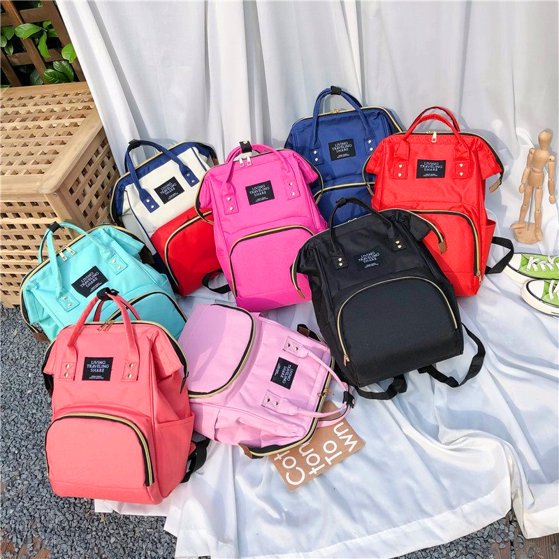 Mother Backpack Mummy Maternity Nappy Bag Large Capacity Nappy Bag Travel Backpack Nursing Bag For Baby Care Women's Bag