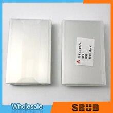 50Pcs 250um Mitsubishi Universele Optische Clear Adhesive Telefoon Tablet Oca Film 4 4.5 4.7 5 5.3 5.5 6.3 6.44 7 7.9 Inch