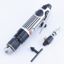 Straight Shank Air Drill With Gear Reinforced 3/8 Pneumatic Drilling Machine Adjustable Speed