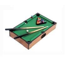 Mini Tabletop Pool Table Desktop Billiards Sets Children's Play Sports Balls Sports Toys Xmas Gift Family Games