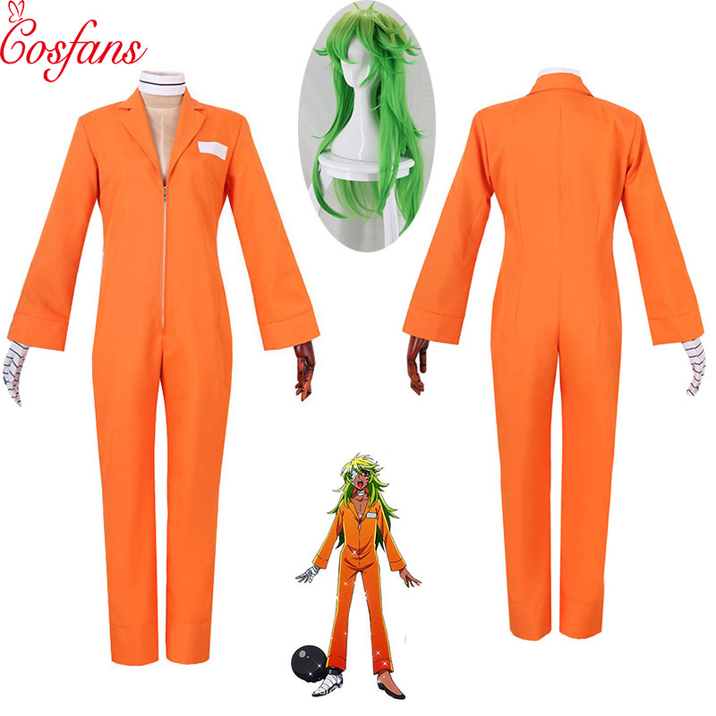 Details about  New Detentionhouse Nanbaka Niko No.25 Prison Clothes Cosplay Cos