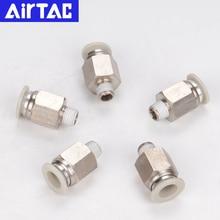 Airtac pipe quick connector APC8-02 threaded straight through APC4-M5 APC6-01 APC10-03 APC12-04