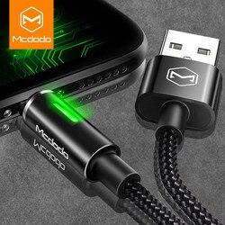MCDODO Auto odłącz kabel do ładowarki usb dla iPhone 11 Pro Xs Max X XR 8 7 6 6S Plus szybka ładowarka przewodowa kabel do transmisji danych telefonu komórkowego w Kable do telefonów komórkowych od Telefony komórkowe i telekomunikacja na